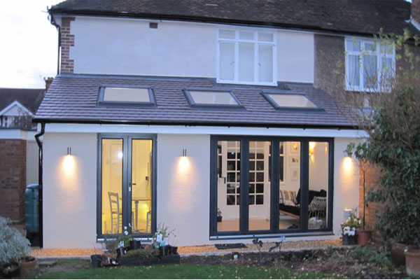 rear extensions offered by local builder in northwich